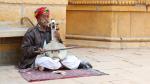 Musicien de rue (Inde)