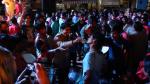 Musiciens de rue juste avant le Holy festival (Inde)